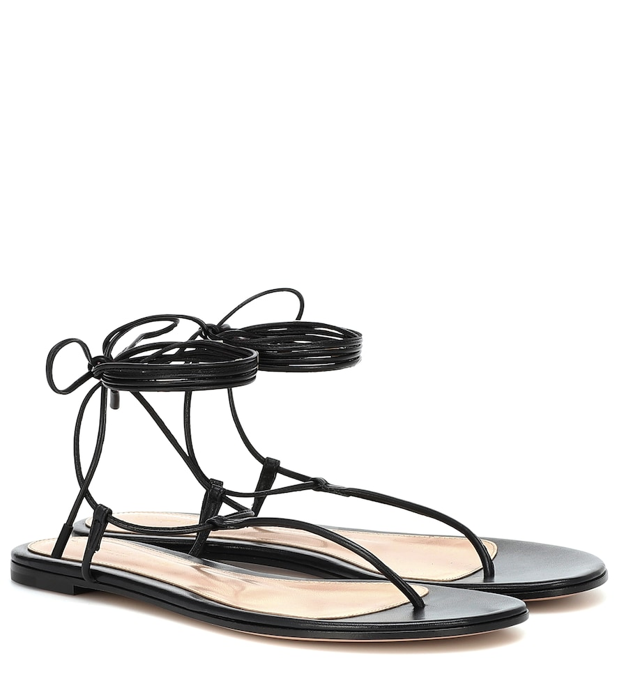 Gwyneth leather sandals