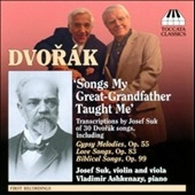 ヨゼフ・スーク (Violin/Conductor)/Dvorak: Songs My Great-Grandfather Taught Me[TOCC0100]