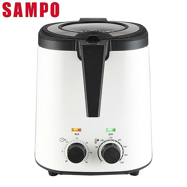SAMPO 聲寶 3公升健康油切氣炸鍋 KZ-L19303BL