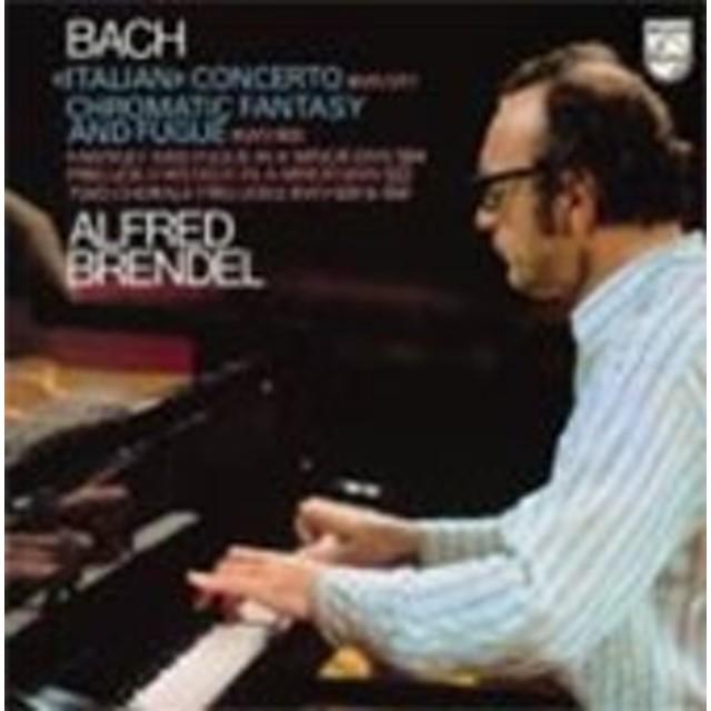 アルフレート・ブレンデル/J.S.Bach: Italian Concerto, Chromatic Fantasy & Fugue, etc<限定盤>[4789269]