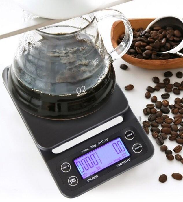 手沖咖啡專業秤 計時磅秤 咖啡秤 咖啡磅秤 黑咖啡 電子 濾杯 計時電子秤 手沖入門手沖秤e012