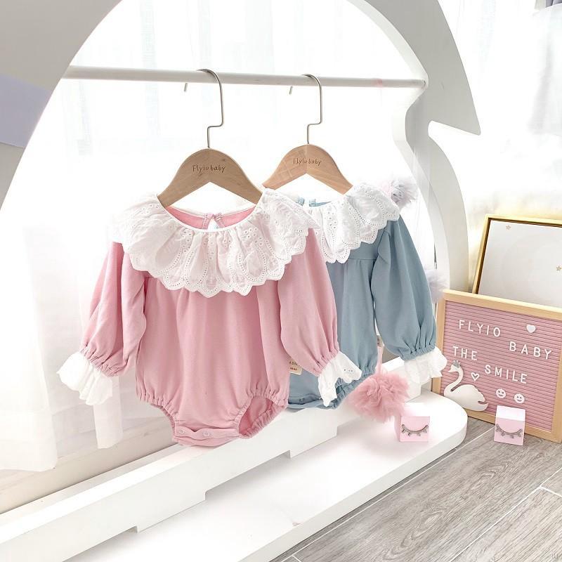 特徵:材質:97%棉3%氨綸年齡範圍:0-24月產地:中國風格:時尚圖案類型:單色袖型:常規袖長:全描述:1.女嬰長袖連身褲+髮帶2套,款式甜美可愛,髮帶相同,性價比高。2.材質:97%棉3%氨綸,衣