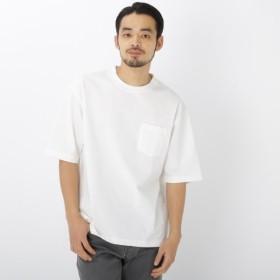 [マルイ] シルケット ビッグシルエット 半袖 Tシャツ/ベース ステーション(メンズ)(BASE STATION Mens)