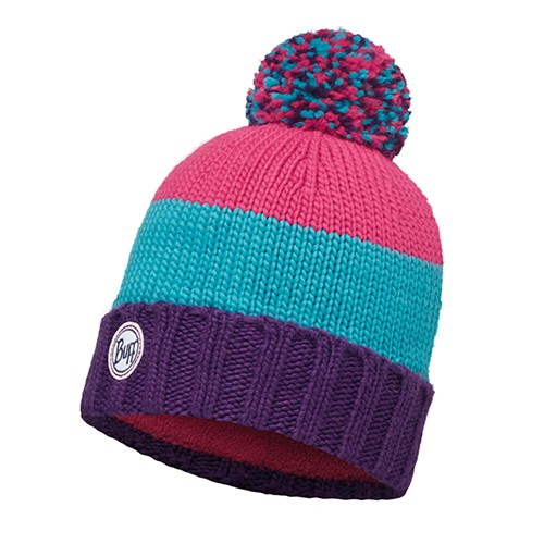 Buff|針織Polar保暖帽 BERNA PLUM
