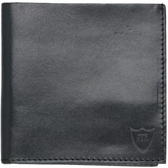 《セール開催中》HTC レディース 財布 ブラック 革 100%
