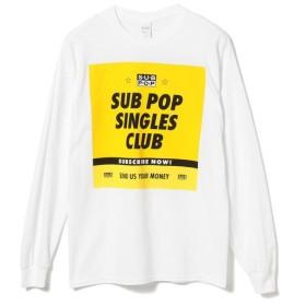 [マルイ]【セール】SUB POP / SINGLES CLUB ロングスリーブ/ビーミングライフストア(メンズカジュアル)(Bming lifestore MC)