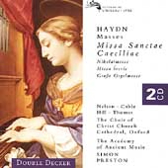 サイモン・プレストン/Haydn: Masses / Simon Preston, Christ Church Choir, et al[4557122]
