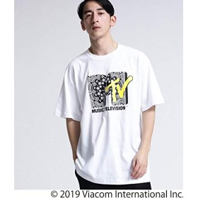 (ティーケー タケオキクチ) tk.TAKEO KIKUCHI MTV × tk.TAKEO KIKUCHI バンダナロゴTシャツ 17026504 01(S) ホワイト(001)