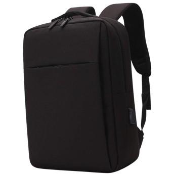 uirendjsf ラップトップ バックパック - USB充電付きポート 旅行 コンピューター リュックサック カジュアル デイパック ビジネス用 男性の女性 15.6 14.6 13.3インチ