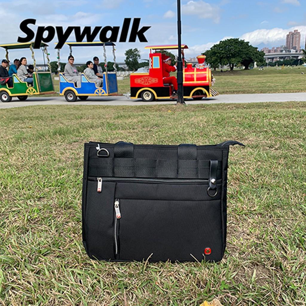 SPYWALK 素色簡約方便手提包 (附背帶) NO:S7241