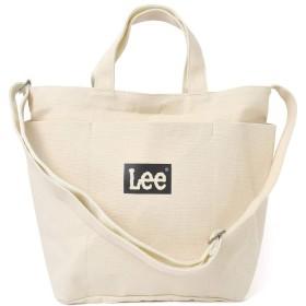 [リー] Lee ショルダーバッグ レディース 斜めがけ 大人 トートバッグ キャンバス a4 2way 16L キャンパス メンズ 通勤 通学 0425611
