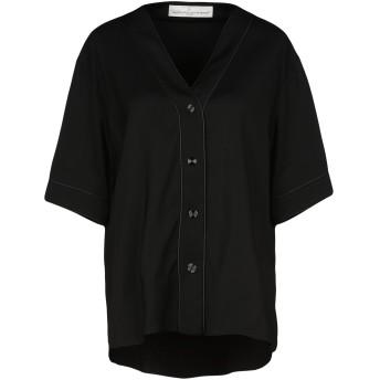 《セール開催中》GOLDEN GOOSE DELUXE BRAND レディース シャツ ブラック S 96% レーヨン 4% ポリウレタン