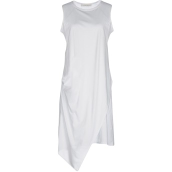 《セール開催中》LIVIANA CONTI レディース ミニワンピース&ドレス ホワイト 46 100% コットン