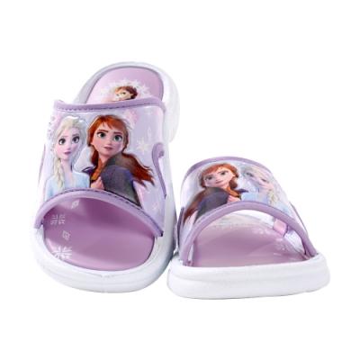 魔法Baby 女童 台灣製冰雪奇緣授權正版女童拖鞋 sa94757