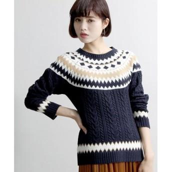 【ウィゴー】フェアアイルセーター