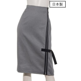 75%OFF DUAL VIEW (デュアルヴュー) 【日本製】スカート ネイビー千鳥