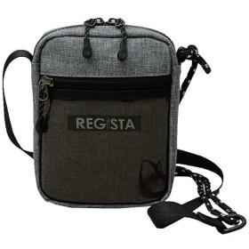 REGISTA(レジスタ) ショルダーバッグ メンズ 鞄 バッグ クリアポケット ナイロン 軽量 グレー