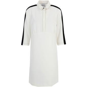 《セール開催中》ANNARITA N レディース ミニワンピース&ドレス ホワイト 44 ポリエステル 93% / ポリウレタン 7%