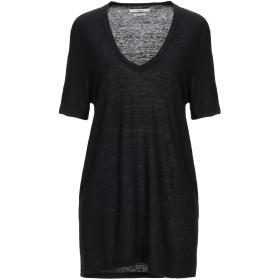 《セール開催中》ISABEL MARANT TOILE レディース T シャツ ブラック XS 麻 100%