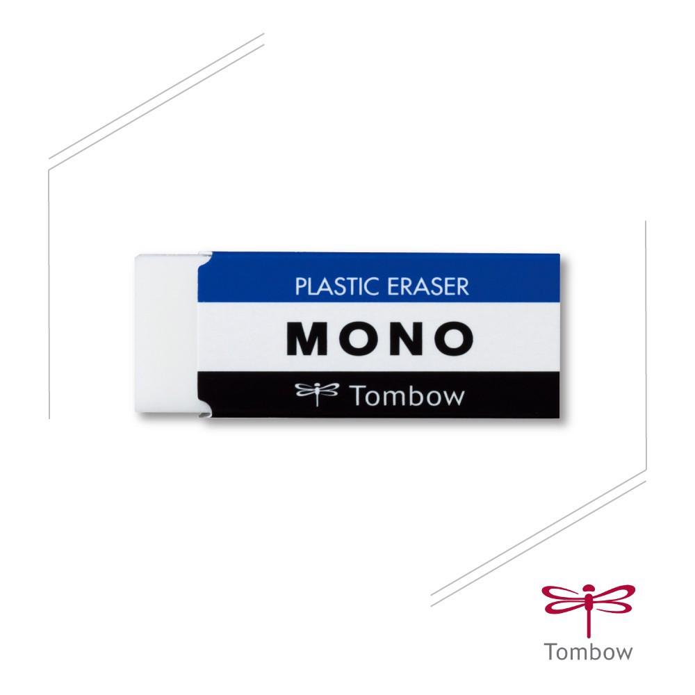 -日本- TOMBOW 蜻蜓牌 E-30N MONO 經典橡皮擦(小) / E-50N MONO 經典橡皮擦(大)