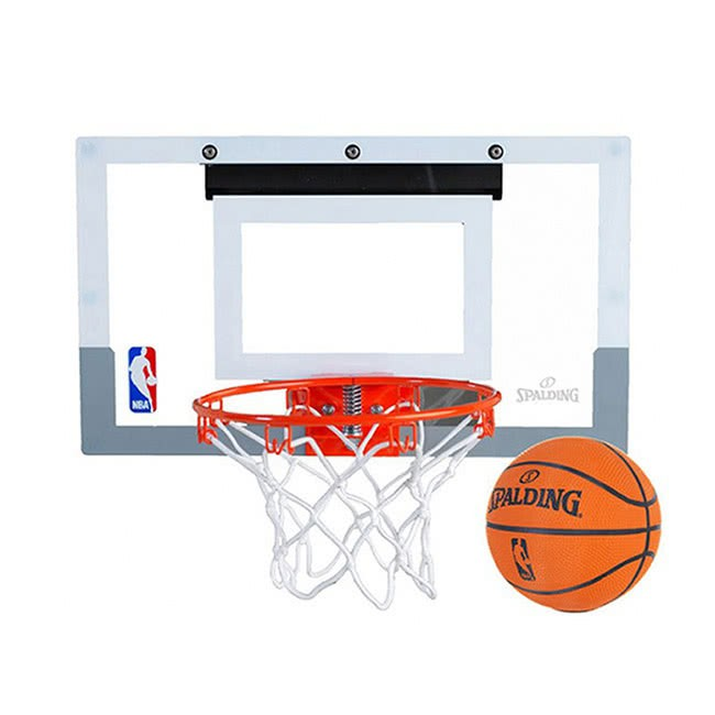 SPALDING斯伯丁 NBA室內小籃板 籃框 附小籃球 SPB56099【樂買網】