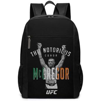 Conor Mcgregor UFC コナーマクレガーufc リュックバック リュックナップザック バッグ ノートパソコン用のバッグ 大容量 バックパックチ キャンパス バックパック 大人のバックパック 旅行 ハイキングナップザック