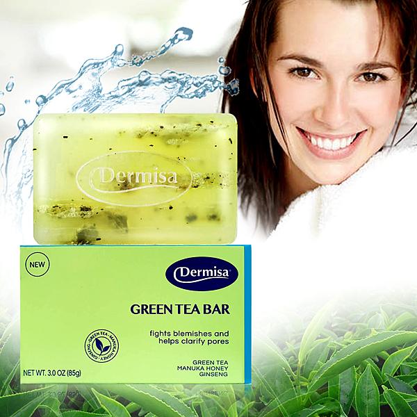 【Starlike】Dermisa綠茶清爽粉刺淨膚皂85g
