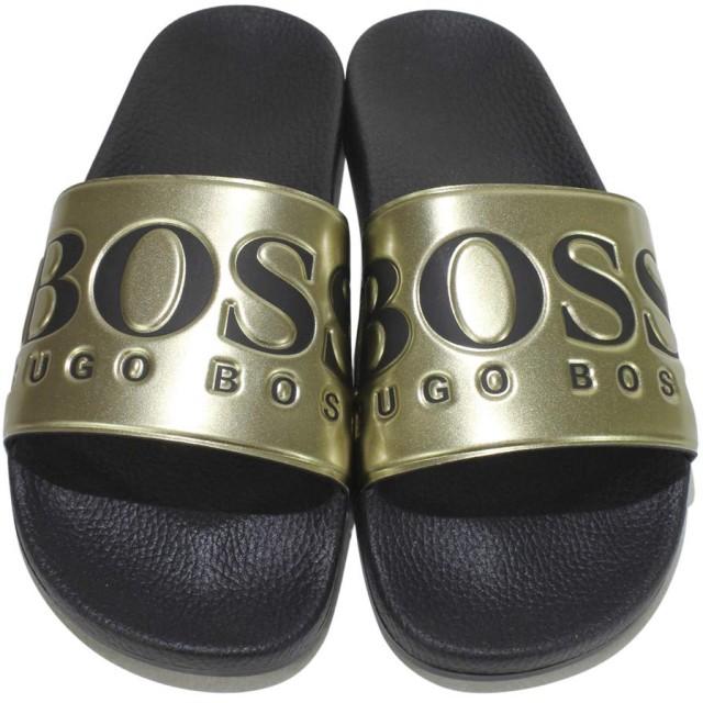 [Hugo Boss] メンズ US サイズ: 9 カラー: ゴールド