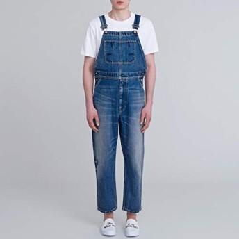 GU KIM JONES デニム オーバーオール サロペット Sサイズ ブルー