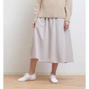 【コレックス/collex】 【手洗い可】ミモレギャザースカート