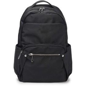 オックスフォードバックパック女性用大容量キャンバス旅行バックパック女性スクールバッグ、ブラック