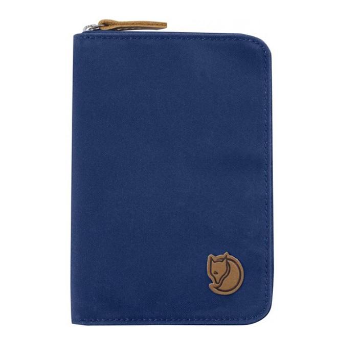 【Fjallraven北極狐】Passport Wallet 旅行護照錢包- 527深藍(FR24220)