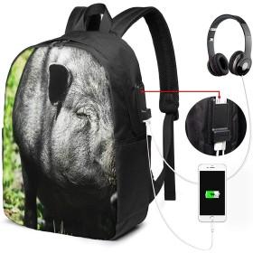 リュックサック ビジネス リュック バックパック PCバッグ 33L大容量 防水 USB充電ポートとヘッドホンジャック付き 耐傷付き 通勤 通学 旅行 出張 メンズ レディース 男女兼用 バッグ