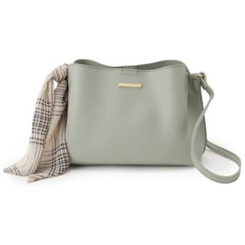 SHOO・LA・RUE/DRESKIP(シューラルー/ドレスキップ) スカーフ付ショルダーバッグ