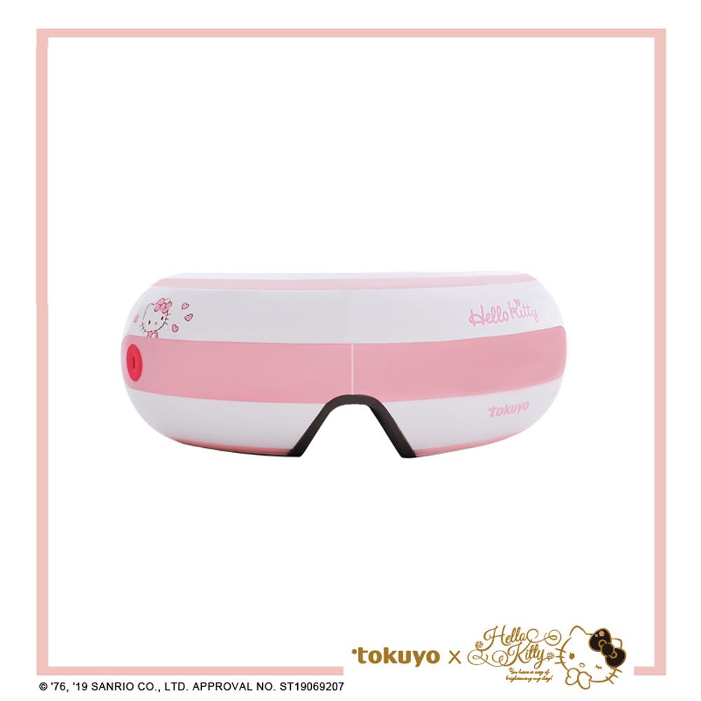 tokuyo Hello Kitty聯名版 FUN睛鬆PLUS眼部按摩器 TS-181H