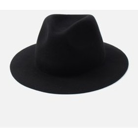 【AZUL by moussy:帽子】【MEN'S】WIDE BRIM FELT HAT