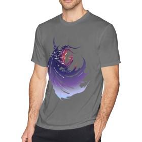 多色 Tシャツ ファイナルファンタジー Final Fantasy トップス メンズ クルーネック 半袖 スポーツシャツ Men's T-Shirt