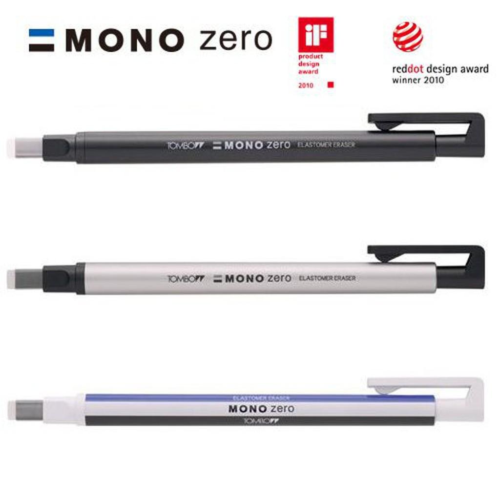 蜻蜓 TOMBOW EH-KUS MONO zero 細字筆型橡皮擦 角型 / ER-KUS 細字筆型橡皮擦 角型替芯