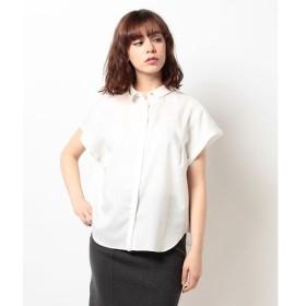 【イェッカ ヴェッカ】比翼デザインシャツ