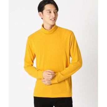 COMME CA ISM/コムサイズム タートルネック Tシャツ 深支子 L