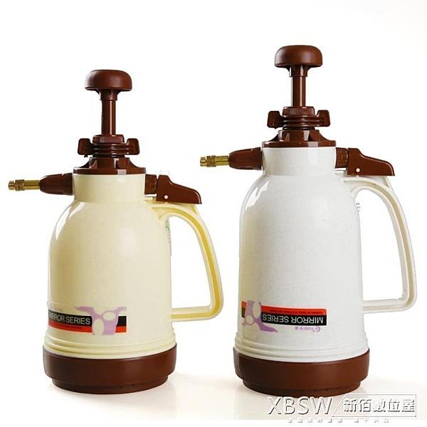 澆花壺氣壓式噴壺灑水壺澆水壺園藝工具手持氣壓噴水壺噴霧器『新佰數位屋』