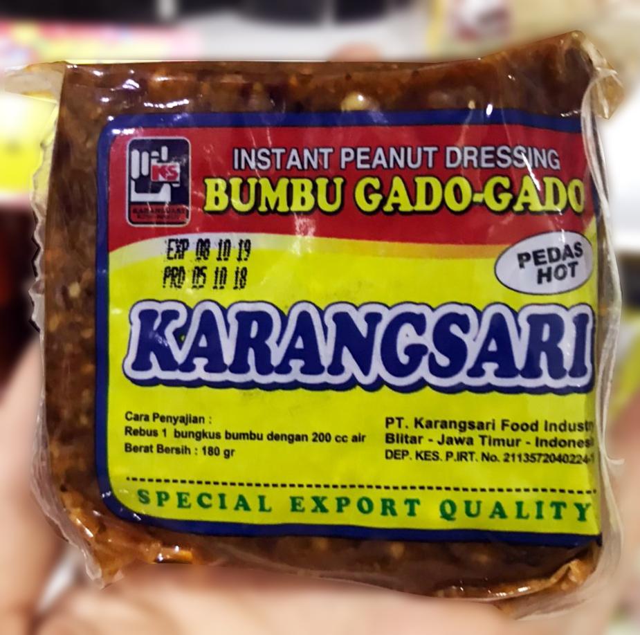 印尼加多加多 辣味花生醬 180g