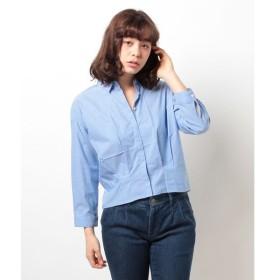 【イェッカ ヴェッカ】裾タックシャツ2