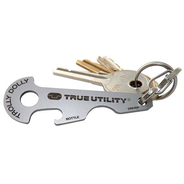 True Utility TrollyDolly 推車解鎖鑰匙圈工具組 TU237 【登山屋】