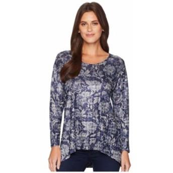 ナリーアンドミリー Nally and Millie レディース チュニック トップス Blue Floral Print Tunic Multi