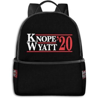 Knope Swanson 2020 ハイエンドのファッションシンプルで美しいファッションバックパック屋内および屋外の四季は、印刷プロセスフルフレーム印刷デザインを転送します