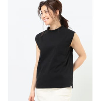 B:MING by BEAMS 【予約】UNIVERSAL OVERALL × B:MING by BEAMS / モックネック タンクトップ 20SS レディース カットソー BLACK ONE SIZE