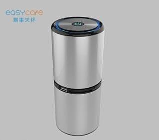 空氣凈化器 車載雙usb鋁合金 除殺菌負離子 汽車凈化器