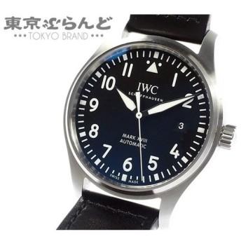 IWC パイロットウォッチ マーク18 MARK XVIII 時計 腕時計 メンズ 自動巻き SS レザー サントーニ Santoni IW327001 送料無料【中古】 ♪ 101399553