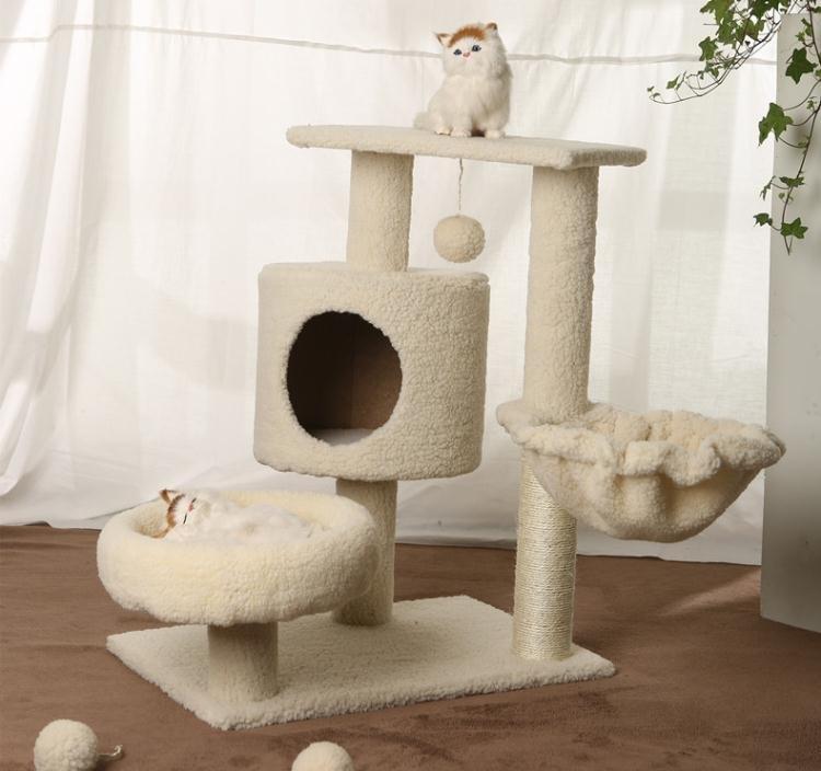 貓跳台 貓爬架貓窩貓樹劍麻貓抓板貓抓柱貓跳臺貓玩具